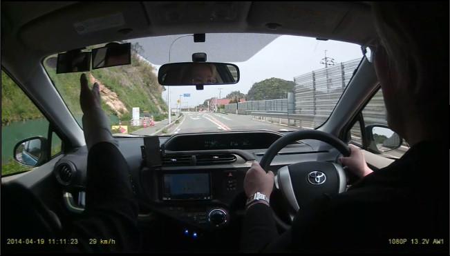 どらいぶケアペーパードライバー教習風景3