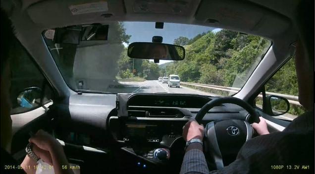どらいぶケア 出張ペーパードライバー教習風景 石見空港編 (T様 ペーパードライバー歴44年)5
